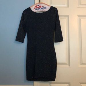 Windsor Dresses - Sparkly, Navy Blue Party Dress